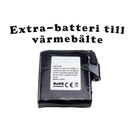 Litiumbatteri till värmebälte
